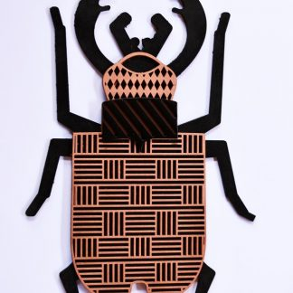 insecte en bois graphique.maisonzephyre