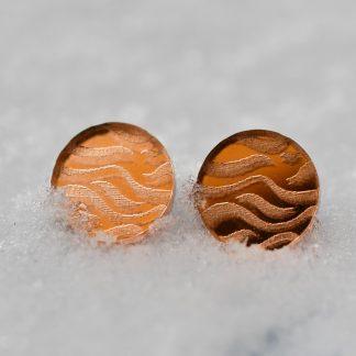 boucles d' oreille en bois - bijoux ecoresponsable - madeinauvergne - madeinfrance - maisonzephyre - bijoux en bois
